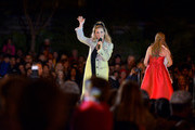 Actress Sarah Michelle Gellar performs at the annual Christmas tree lighting ceremony at Palisades Village on November 24, 2019 in Pacific Palisades, California.