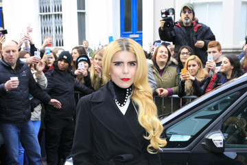 Paloma Faith Band Aid 30 Recording - Arrivals