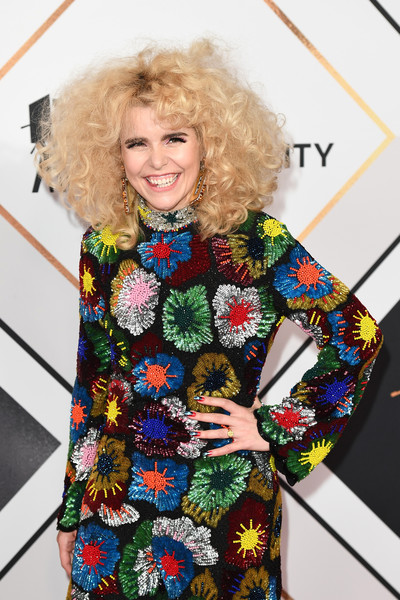 BBC Sports Personality Of The Year 2018 - Red Carpet Arrivals [clothing,fashion,dress,street fashion,outerwear,sleeve,pattern,neck,fashion design,photography,red carpet arrivals,paloma faith,england,birmingham,the vox conference centre,bbc sports personality of the year]