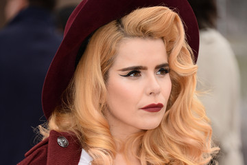Paloma Faith Burberry Womenswear Autumn/Winter 2014 - Arrivals