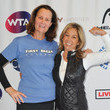 Pam Shriver Manhattan Country Club And First Break Academy Foundation Hosts 2nd Annual LA Tennis Bash
