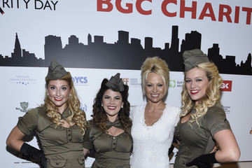 Pamela Anderson Annual Charity Day Hosted By Cantor Fitzgerald And BGC - BGC Office - Inside
