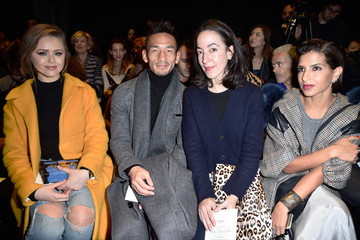 Pamela Golbin Moncler Gamme Rouge : Front Row - Paris Fashion Week Womenswear Spring/Summer 2016