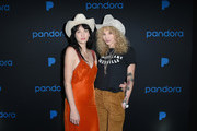 Nikki Lane and CEO and Creative Director of Land of Distraction Danita Short attend Pandora SXSW 2018 on March 13, 2018 in Austin, Texas.