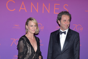 Paolo Sorrentino Opening Gala Dinner Arrivals - The 70th Annual Cannes Film Festival