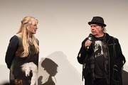 """Daryl Hannah and Neil Young attend the """"Paradox"""" Premiere 2018 SXSW Conference and Festivals at Paramount Theatre on March 15, 2018 in Austin, Texas."""