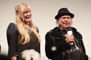 "Daryl Hannah and Neil Young attend the ""Paradox"" Premiere 2018 SXSW Conference and Festivals at Paramount Theatre on March 15, 2018 in Austin, Texas."