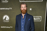 """Derek Theler attends Paramount Network's """"68 Whiskey"""" Premiere Party at Sunset Tower on January 14, 2020 in Los Angeles, California."""