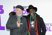 Corbin Bernsen (L) and Michael K. Williams attend the world premiere of 'Nobody's Fool' at AMC Lincoln Square Theater on October 28, 2018 in New York, New York.