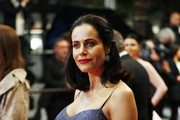 """Gabriela Dias attends the screening of """"Parasite"""" during the 72nd annual Cannes Film Festival on May 21, 2019 in Cannes, France."""