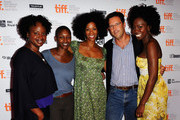 "Writer/director Dee Rees, producer Nekisa Cooper, actress Kim Wayans, Focus Features' Andrew Karpen and actress Adepero Oduye attend ""Pariah"" Premiere at TIFF Bell Lightbox during the 2011 Toronto International Film Festival on September 12, 2011 in Toronto, Canada."