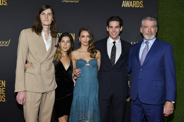 HFPA And THR Golden Globe Ambassador Party - Press Conference And Arrivals