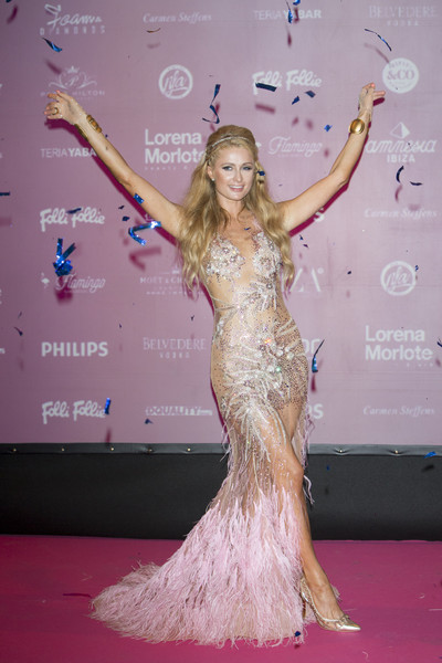 Paris Hilton Presents 'Foam & Diamonds' in Ibiza