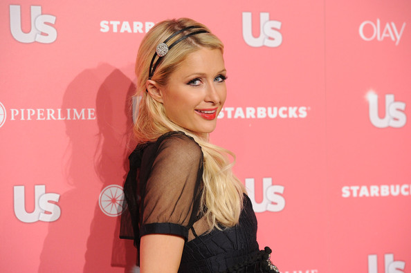 Paris Hilton Paris Hilton arrives at the Us Weekly Hot Hollywood party held at Eden on April 26, 2011 in Hollywood, California.