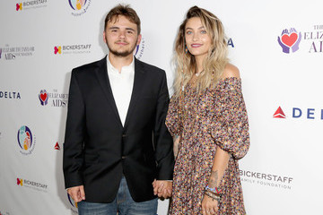 Paris Jackson mothers2mothers and the Elizabeth Taylor AIDS Foundation Benefit Dinner at Ron Burkle's Green Acres Estate