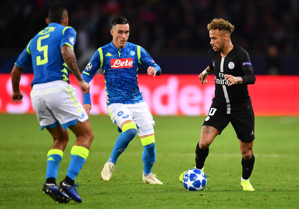 Neymar Photos Photos Paris Saint Germain Vs SSC Napoli