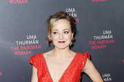 "Actress Geneva Carr attends the broadway opening night of ""The Parisian Woman"" at The Hudson Theatre on November 30, 2017 in New York City."