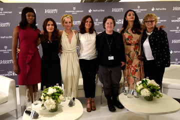 Parker Posey Variety Celebrates UN Women at the 68th Cannes Film Festival