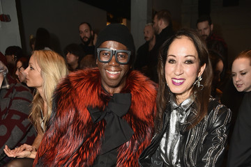 Pat Cleveland Georgine - Front Row - February 2017 - New York Fashion Week: The Shows