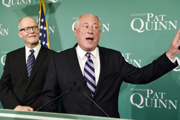 Pat Quinn Gov. Quinn Attends Election Night Rally In Chicago