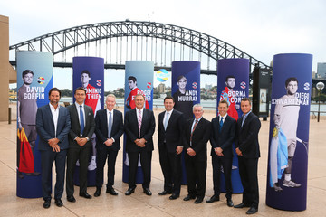Pat Rafter Craig Tiley 2020 ATP Cup Official Draw