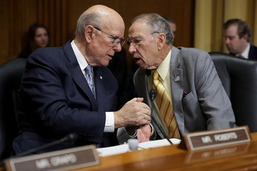 Pat Roberts Commerce Secretary Wilbur Ross Testifies To Senate Finance Committee On Current And Proposed Tariffs
