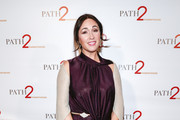 Model Gabriela Dias arrives at Path2Parenthood - Illuminations LA 2016 at The Four Seasons Hotel on April 15, 2016 in Beverly Hills, California.
