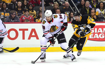 Patric Hornqvist Chicago Blackhawks v Pittsburgh Penguins