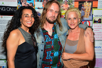 Patricia Arquette Sterling Ruby GiveLove 2nd Annual Art Auction And Fundraiser For Haiti With Patricia Arquette & Rosetta Getty