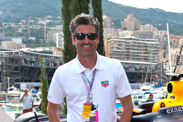 Patrick Dempsey Celebrities On The Red Bull Energy Station