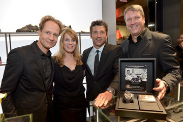 Patrick Dempsey Porsche Design Celebrates Festival of Watches