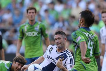 Patrick Ianni Los Angeles Galaxy v Seattle Sounders
