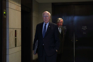 Patrick Leahy Senate Select Intelligence Committee Holds Closed Intelligence Briefing
