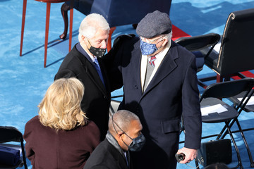 Patrick Leahy Joe Biden Sworn In As 46th President Of The United States At U.S. Capitol Inauguration Ceremony