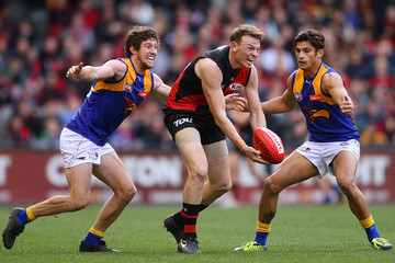 Patrick McGinnity AFL Rd 20 - Essendon v West Coast