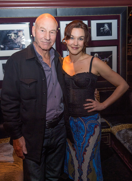Patrick Stewart with beautiful, Wife Sunny Ozell