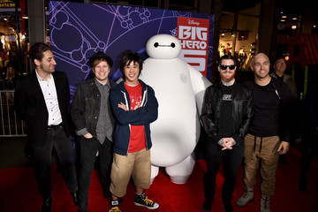 "Patrick Stump Premiere Of Disney's ""Big Hero 6"" - Red Carpet"