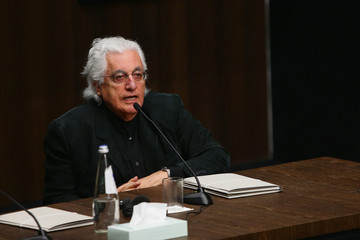 Patrizio Bertelli Fondazione Prada Press Conference, Milan May 2nd