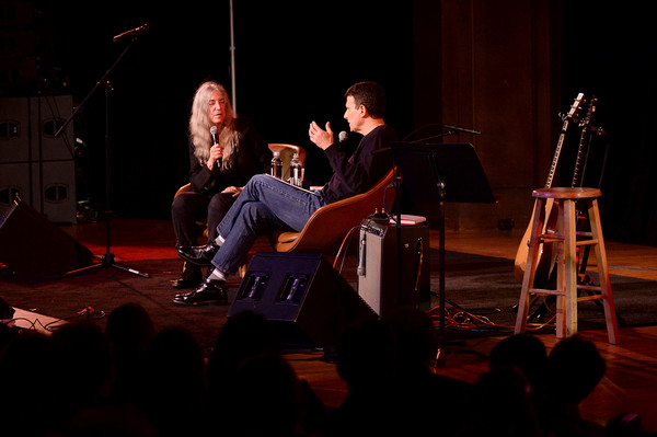 The 2019 New Yorker Festival - Patti Smith Talks With David Remnick