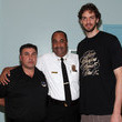 David Barrett Pau Gasol, LAFD & MySafe:LA Educate Students On Fire & Earthquake Safety