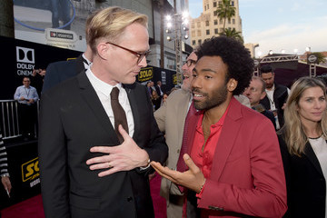 Paul Bettany Donald Glover Premiere Of Disney Pictures And Lucasfilm's 'Solo: A Star Wars Story' - Red Carpet