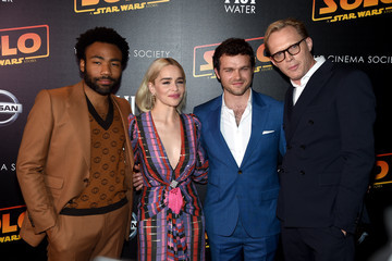 Paul Bettany Donald Glover 'Solo: A Star Wars Story' New York Premiere