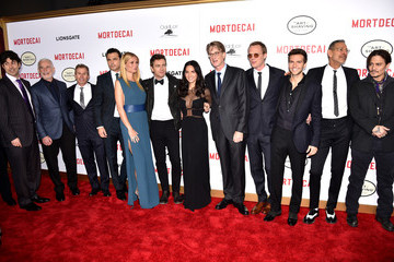 "Paul Bettany Premiere Of Lionsgate's ""Mortdecai"" - Red Carpet"