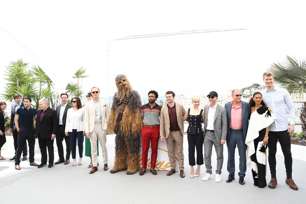 'Solo: A Star Wars Story' Photocall - The 71st Annual Cannes Film Festival