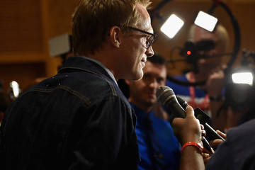 "Paul Bettany Marvel's Hall H Press Line For ""Ant-Man"" And ""Avengers: Age Of Ultron"""