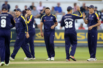 Paul Collingwood Durham Jets vs. Yorkshire Vikings - Vitality Blast