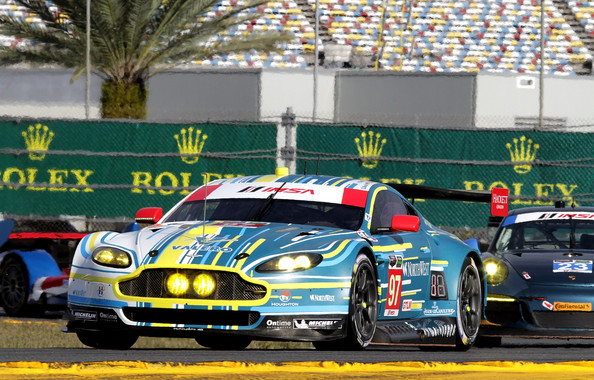 Rolex 24: Previews [aston martin vantage,previews,land vehicle,vehicle,car,endurance racing motorsport,sports car,sports car racing,performance car,touring car racing,motorsport,racing,richie stanaway,darren turner,pedro lamy,stefan mucke,paul dalla lana,rolex 24,aston martin racing,races]