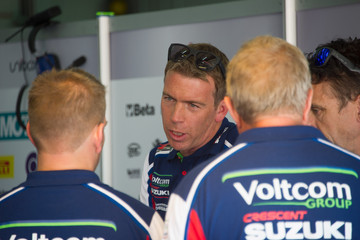 Paul Denning World Superbikes - Qualifying