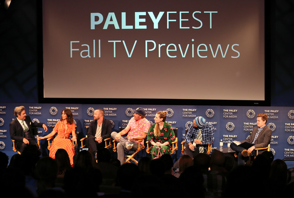 The Paley Center For Media's 2018 PaleyFest Fall TV Previews - Netflix - Inside [paleyfest fall tv previews,event,performance,stage,talent show,crowd,convention,font,adaptation,performing arts,performance art,paul f. tompkins,aaron paul,raphael bob-waksberg,lisa hanawalt,stage,l-r,netflix,paley center for media,inside]