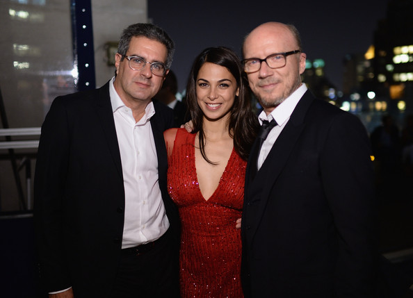 'Third Person' Afterparty in NYC [cinema society and revlon host a screening of sony pictures classics,event,suit,fashion,eyewear,formal wear,glasses,smile,night,photography,vision care,third person,paul haggis,michael nozik,actress,moran atias,l-r,sony pictures classics,party,screening]